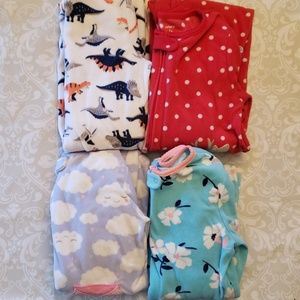 Carter's lot 5t pajamas